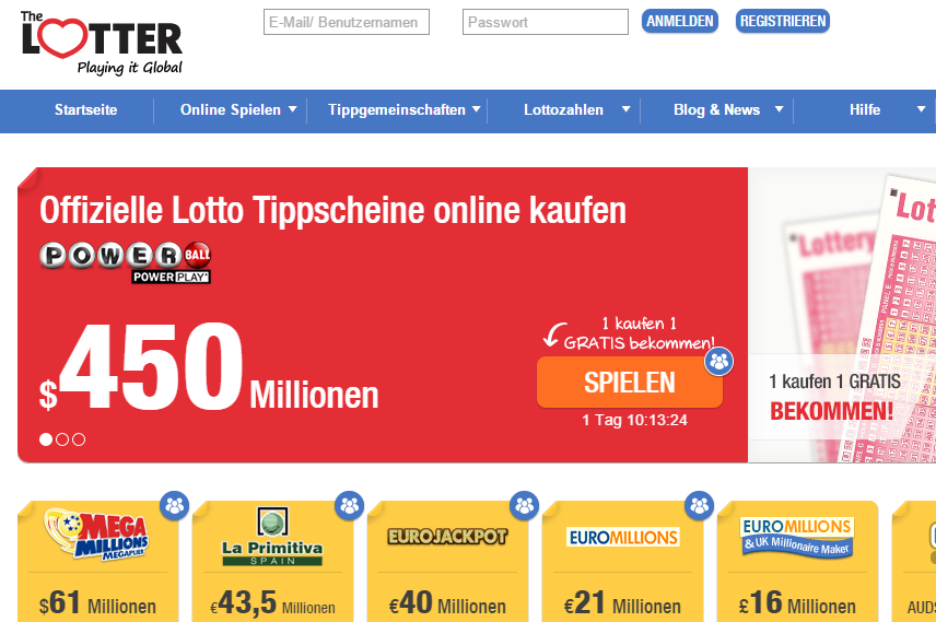 Lotto Gewinnaufteilung