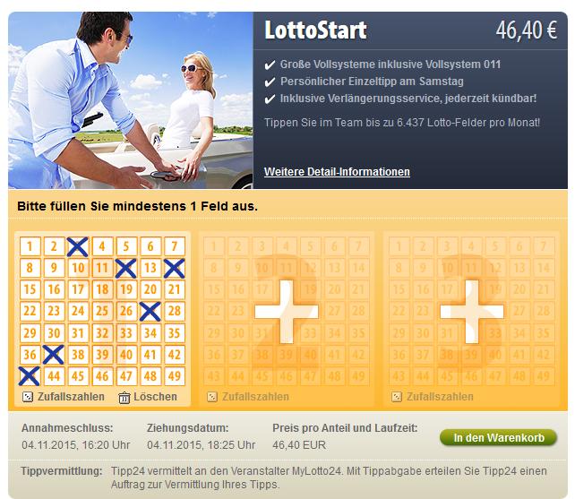 Was Kostet Ein Lottofeld