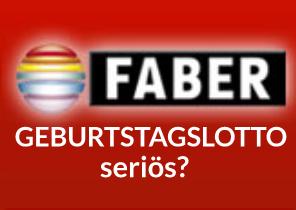 Faber Lotto Geburtstagsgeschenk