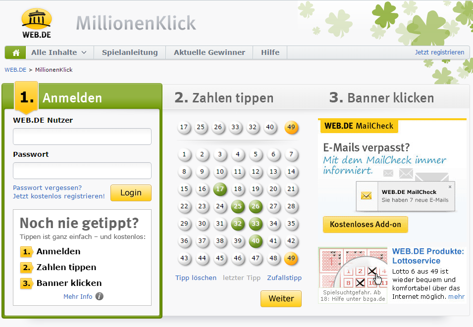 Lotto Web.De