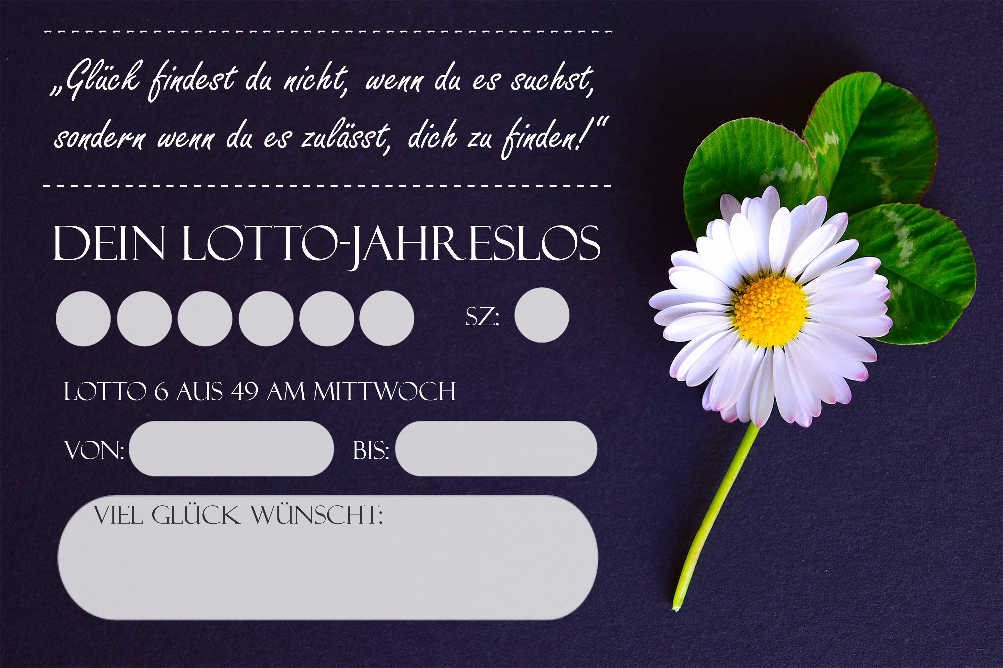 Lotto Los Verschenken