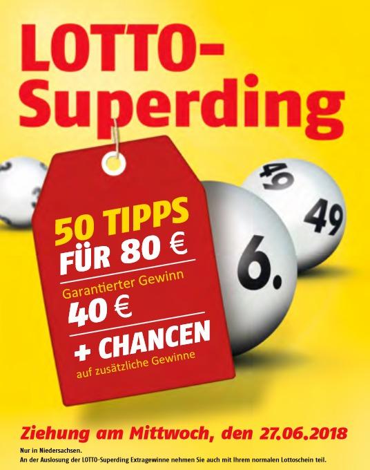 Sonderziehung Lotto