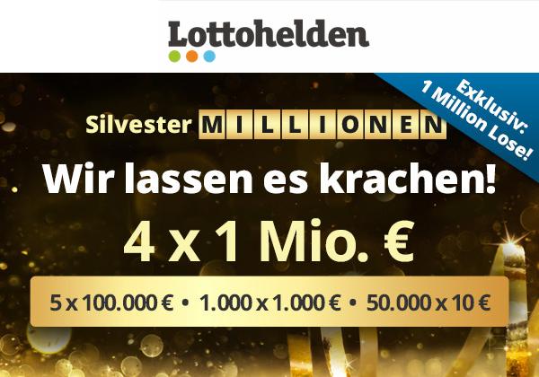 Silvester Millionen Lotto