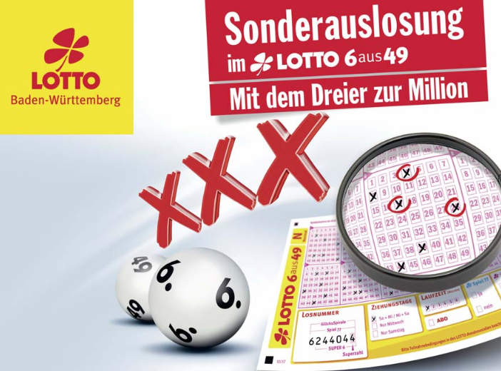 Sonderauslosung Lotto Bw