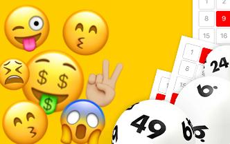 😳😍😋 Kostenloses Emoji-Lotto aus Großbritannien im Test
