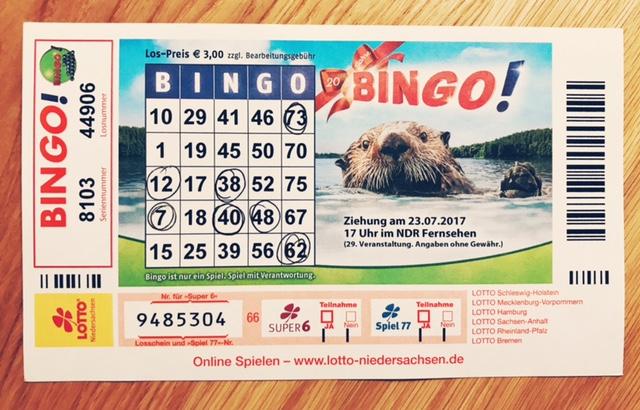 Bingo Ndr Jackpot