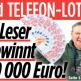 BILD Telefon-Lotto Titelseite vom 02.03.2018