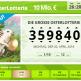Lottohelden Osterlotterie Los