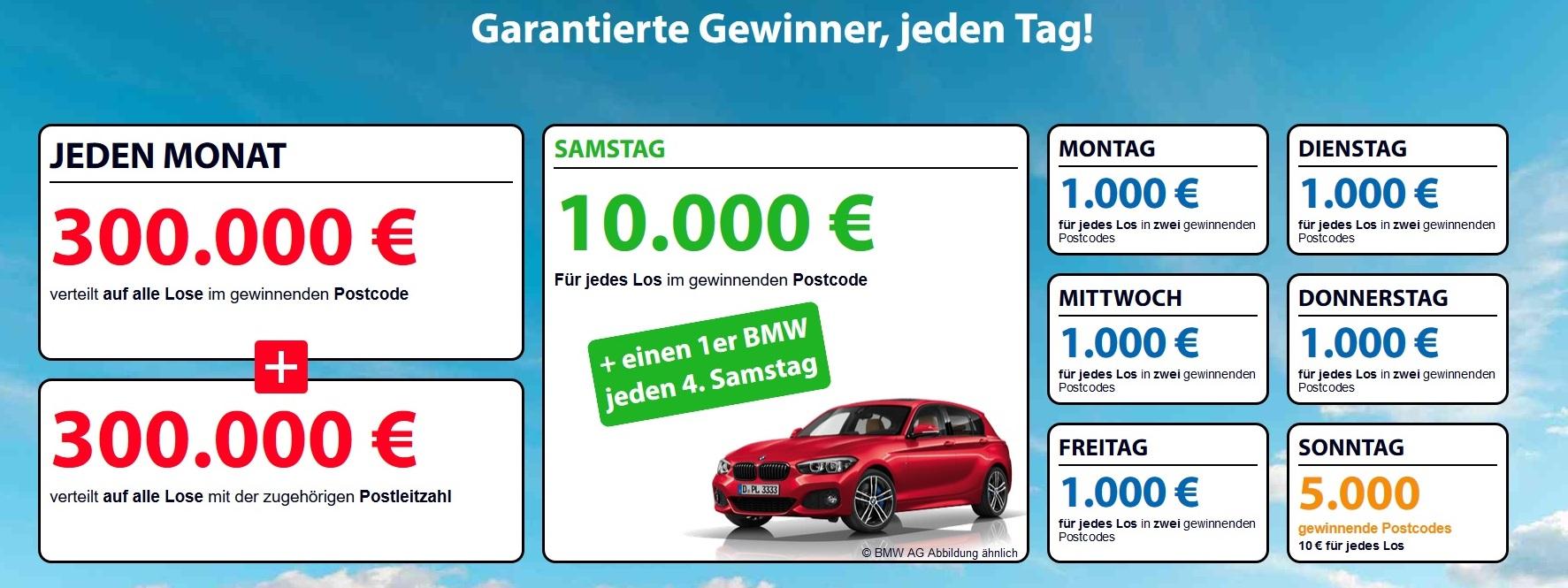Deutsche Postleitzahl Lotterie