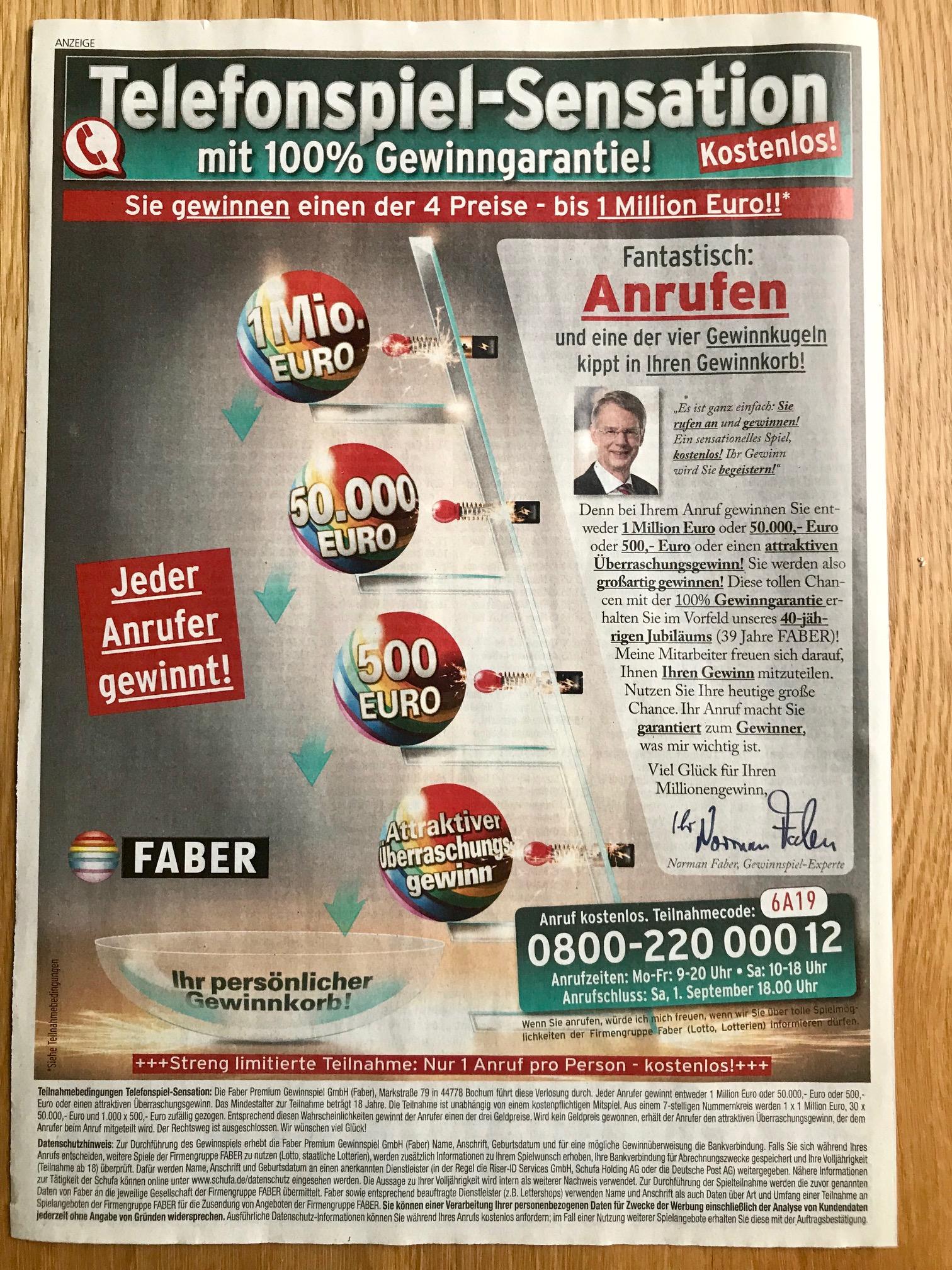 Erfahrungen Mit Faber Lotto