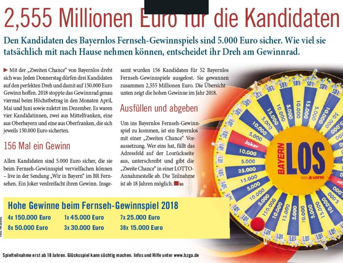 Zweite Chance Lotto