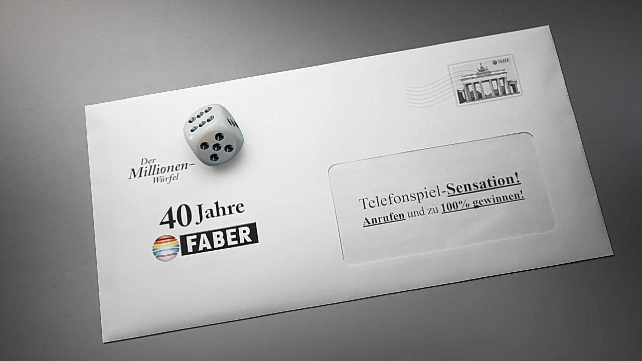 Faber Gewinnspiel Brief