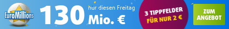 Euromillions Aktion am Freitag